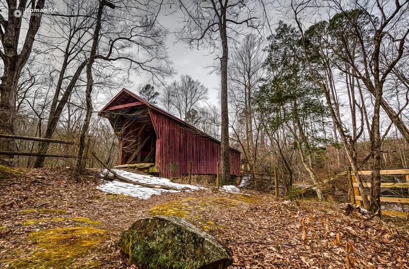 Snowcovered Bridge