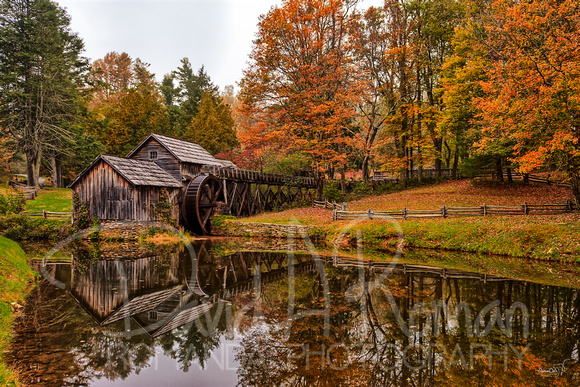 Mabry Mill Fall