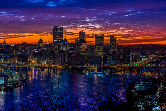 Cold Pittsburgh Sunrise